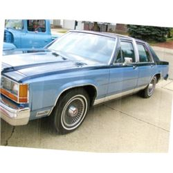 NO RESERVE 1981 MERCURY CROWN VICTORIA 68948 ORIGINAL KMS