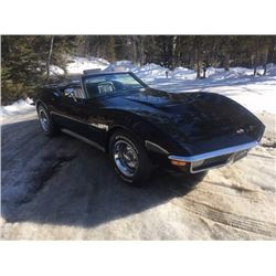 1971 CHEVROLET CORVETTE LS5 454 365HP BIG BLOCK ROADSTER