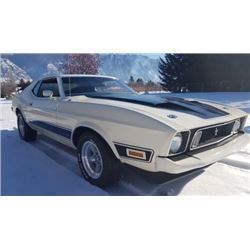 1973 FORD MUSTANG COBRA JET MACH 1 Q CODE