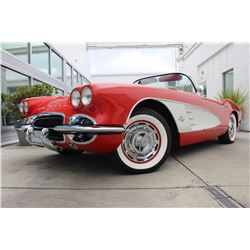 3:30PM SATURDAY FEATURE 1961 CHEVROLET CORVETTE ROADSTER