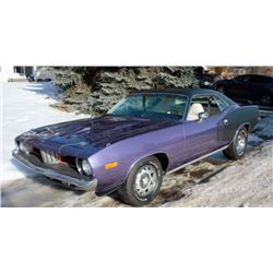 1973 PLYMOUTH CUDA 340 4 SPEED