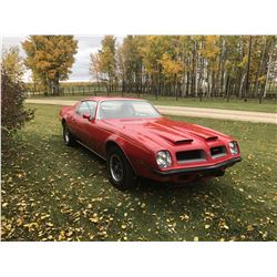 1974 PONTIAC FIREBIRD FORMULA 455 1 OF 160 RAM AIR BIG BLOCKS