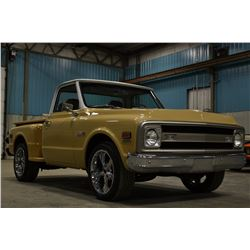 1971 CHEVROLET CHEYENNE C10 STEPSIDE FRAME OFF RESTORATION