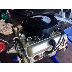 NO RESERVE OLDSMOBILE 350 4BBL V8 ROCKET ENGINE TOTALLY REBUILT ON ENGINE STAND WITH TRANNY