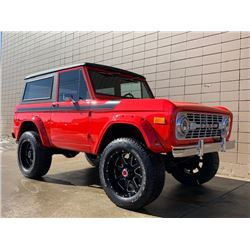 SATURDAY FEATURE 1976 FORD BRONCO 4X4 CUSTOM SHOW TRUCK