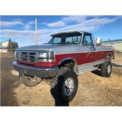 FRIDAY NIGHT 1993 FORD F250 CUSTOM 4X4 PICK UP