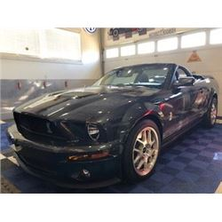 SHELBY COLLECTION! 2007 SHELBY GT 500 CONVERTIBLE  1 OF 13 IN THESE SPECIFICATIONS EVER PRODUCED