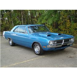 2:00PM SATURDAY FEATURE 1970 DODGE DART SWINGER 340 4 SPEED AMAZING ROTISSERIE RESTORATION