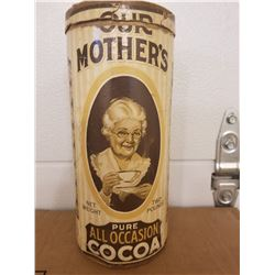 COCOA CONTAINER (MOTHER'S) *2 LB*