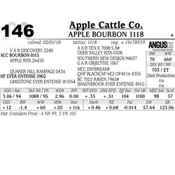 APPLE Bourbon 1118