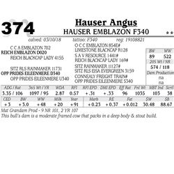 Hauser Emblazon F340