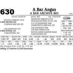 A Bar Archive 883