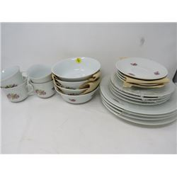 DINNER WARE (GERMAN DEMOCRATIC REPUBLIC) *4 PC SETTING* (20 PCS)