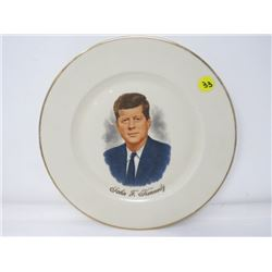 DECORATOR PLATE (JOHN F. KENNEDY) *MADE IN WEST GERMANY*
