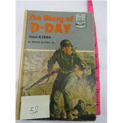 BOOK (THE STORY OF D-DAY) *BRUCE BLIVEN JR*