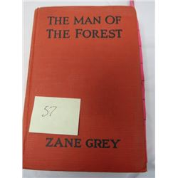 BOOK (THE MAN OF THE FOREST) *ZANE GREY*