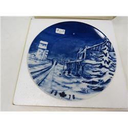 CHRISTMAS COLLECTORS PLATE (CANADIAN) *1976*