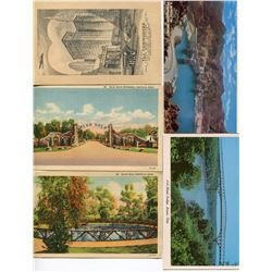 LOT OF 52 ASSORTED POSTCARDS (WORLD SCENERY AND BUILDINGS) *BLUE HOLE, THE COMMODORE, HOOVER DAM, ET