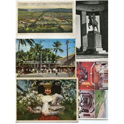 LOT OF 16 ASSORTED POSTCARDS (WORLD SCENERY AND BUILDINGS) *KING ALBERT, CANADA PARLIAMENT, NATIONAL