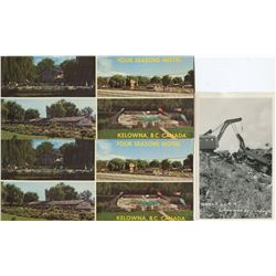 LOT OF 25 ASSORTED POSTCARDS (WORLD SCENERY AND BUILDINGS) *STANLEY PARK, FORT STEELE, CNR WRECK, ET