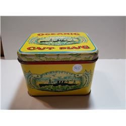OCEANIC CUT PLUG TOBACCO TIN *GREAT CONDITION*