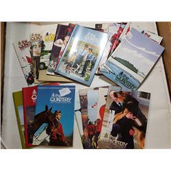 LOT OF 20 RCMP QUARTERLY BOOKS (VARIOUS YEARS)