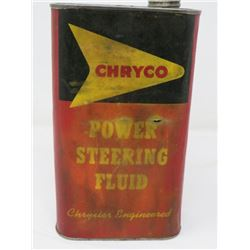 1 QUART CHRYCO POWER STEERING CAN