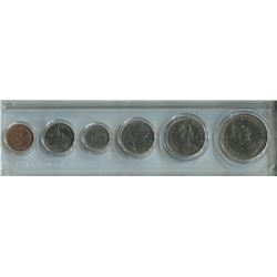 PROOF SET CANADIAN COINS (1972 1 CENT TO 1$) *PLASTIC CASE*