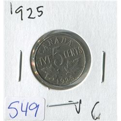 CANADIAN NICKLE (1925)