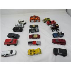 LOT OF TOY VEHICLES (MARJORETTE, TONKA, MATCHBOX, UNIVERSAL STUDIOS) *VINTAGE*
