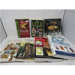 COLLECTORS BOOKS (ANTIQUE FURNITURE, ART, COLLECTIBLES)