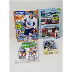 BECKETTE HOCKEY AND NON-SPORTS PRICE GUIDES, GRETZKY COLLECTABLE GUIDE, BOX POWER PLAY UPDATE CARDS)