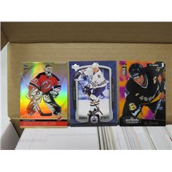 LOT OF HOCKEY CARDS (VARIOUS CURRENT YEARS, UD SP AUTHENTIC, COLLECTORS CHOICE, MCDONALDS, ICE, ROOK