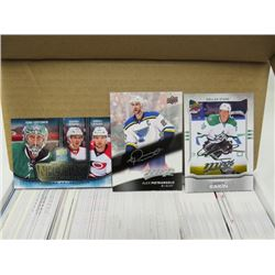 LOT OF HOCKEY CARDS ( MVP 17/18, 16/17, 14/15, SILVER SCRIPT MVP, STANLEY CUP EDITION, MANY ROOKIES)