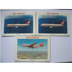 CANADIAN RATION BOOKS - AIR CANADA PUZZLES - U.K. MONEY BAG
