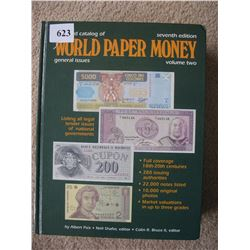 WORLD PAPER MONEY REFERENCE BOOK - Good Condition