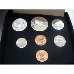 1979 CANADIAN MINT DOUBLE PENNY COIN SET