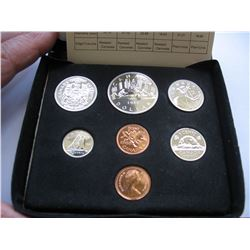 1980 CANADIAN MINT DOUBLE PENNY COIN SET