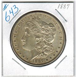 1887     US MORGAN DOLLAR