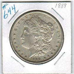 1889     US MORGAN DOLLAR
