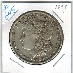 1889O  US MORGAN DOLLAR