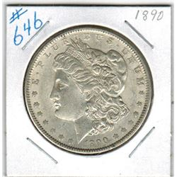 1890     US MORGAN DOLLAR