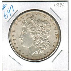 1896     US MORGAN DOLLAR