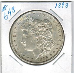 1898    US MORGAN DOLLAR