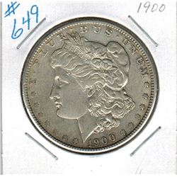 1900    US MORGAN DOLLAR