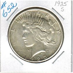 1925S   US PEACE DOLLAR