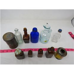 LOT OF ASSORTED GLASS (VINTAGE)