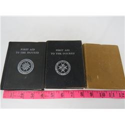 LOT OF BOOKS (FIRST AID)
