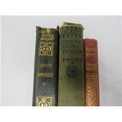 LOT OF BOOKS (CHARLES DICKENS)