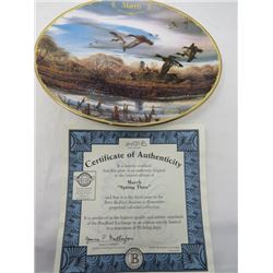TERRY REDLIN SEASONS TO REMEMBER PLATES (MARCH)